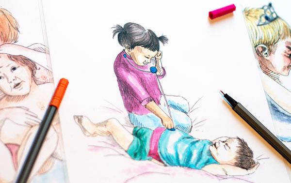 Kartenspiel zu Kindlicher Sexualitaet von Beziehungsweise Wachsen